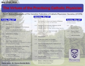 2014: The Virtues of the Practising Catholic Physician